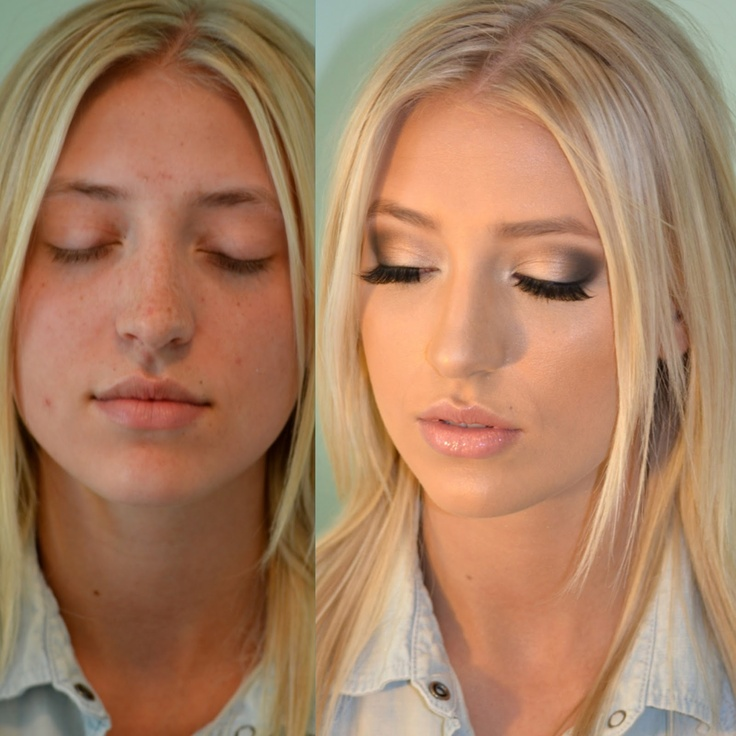 The Power of Hair and Makeup: Before and After | Glamourosity
