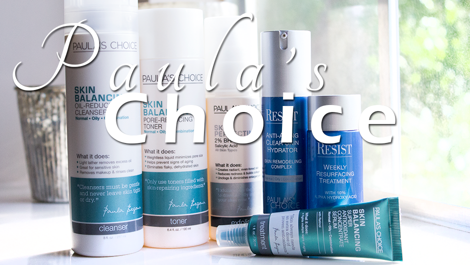 Paula's Choice Skin Care | Glamourosity